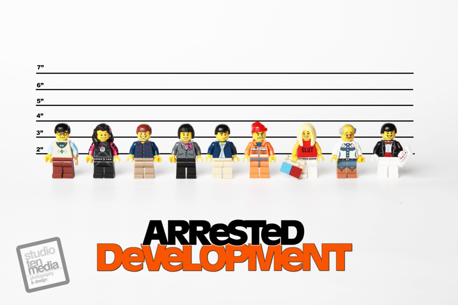 Arrested Development Lego by Debbie Hickey